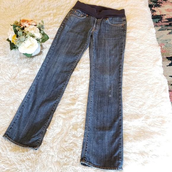84d8c640f43b9 7 For All Mankind Jeans | Maternity Size Medium30 | Poshmark